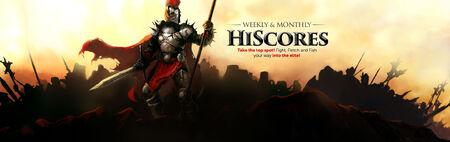 HiScores banner