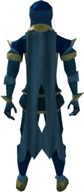 Lunar cape (blue) equipped