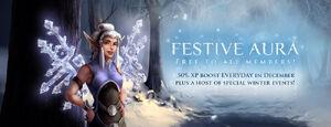 Festive Aura banner