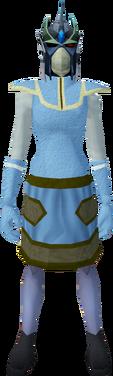 Full slayer helmet (ef) (green) equipped