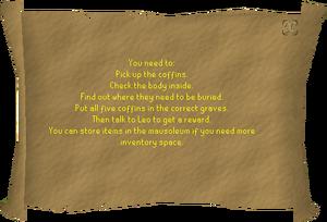 Gravedigger instructions