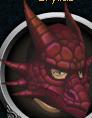 Red dragon mask chathead