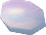 Rose-tinted lens