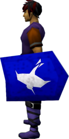 Rune kiteshield (Arrav) equipped