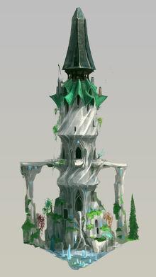 Torre das Vozes conceito de arte