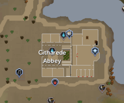 Abbey of St. Elspeth Citharede map