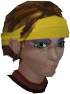 Angry woman chathead