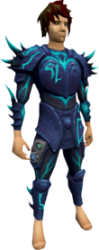 Augmented elite sirenic armour set equipped