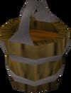 Bucket of sap detail