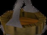 Bucket of sap