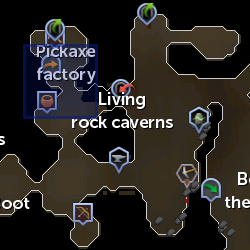Cart Conductor (Dwarven Mine) location