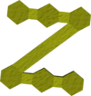 Hazeel's mark detail