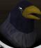 Raven (black) chathead