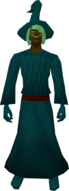 Robe (Canifis) teal equipped