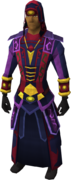 Seasinger's robes equipped