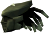Sirenic mask (barrows) detail