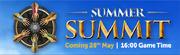 Summer Summit lobby banner
