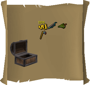 Treasure trail reward interface old