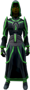 Vestments of Sorrow outfit (female) equipped
