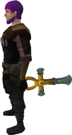 Ankh equipped