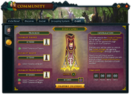 Community (Rune Capers) interface 1