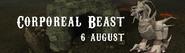 Corporeal Beast 6 August 2016