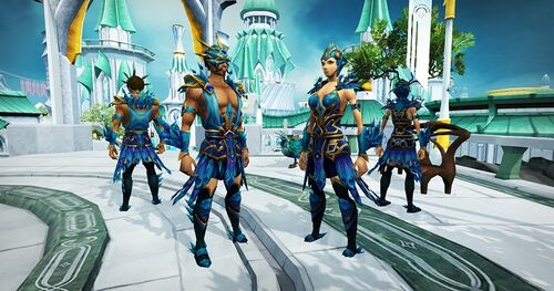 Crystal Peacock outfit news image