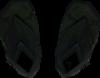 Hardened runner boots detail