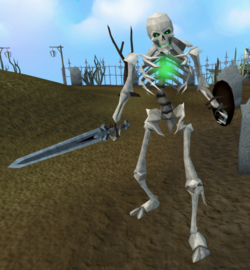 Skeleton (Temple Trekking, no helmet)