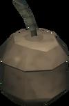 Smoke bomb detail