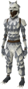 Werewolf outfit equipped (female)