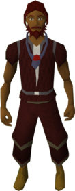 Amulet of fury equipped