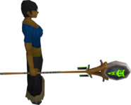 Banner of Sliske equipped