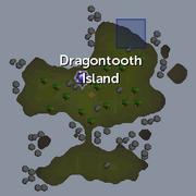 Dragontooth Shipwreck chain location