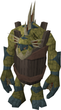 Sea troll barrel