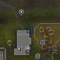 A strange portal (2002) location