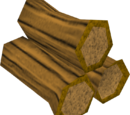 Arctic pine logs