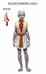 Catatonic child concept art
