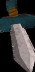 Doc's broken dagger detail