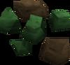 Green ore detail