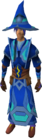 Infinity robes (Water) equipped