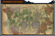 Mysterious clue scroll (You Are It) map