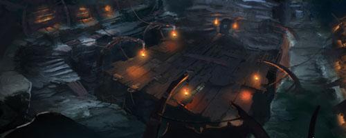 Pit arena art