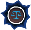Prepared law rune detail