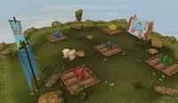 Resource race farming island