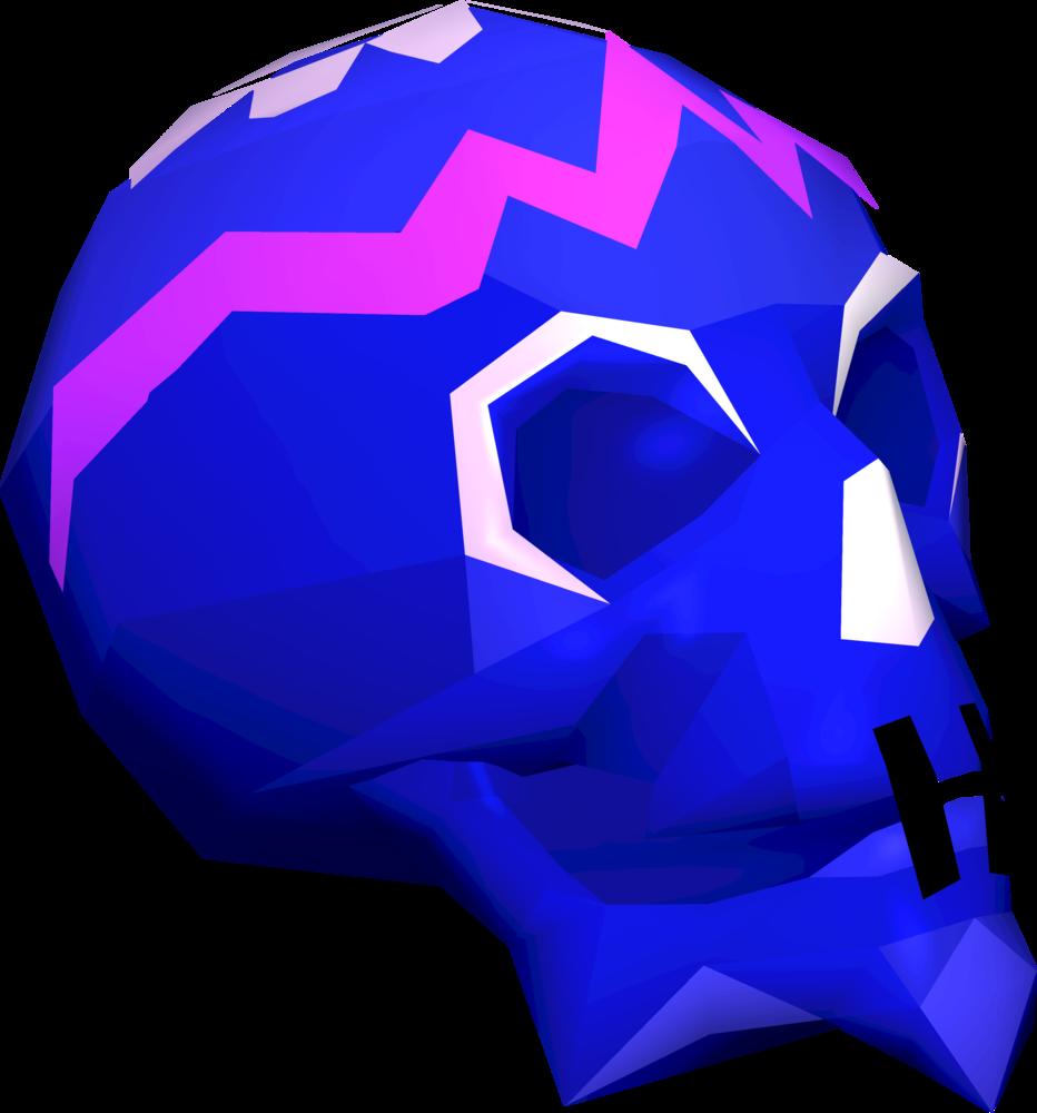Sugar skull detail