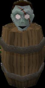 Zombie head (NPC)