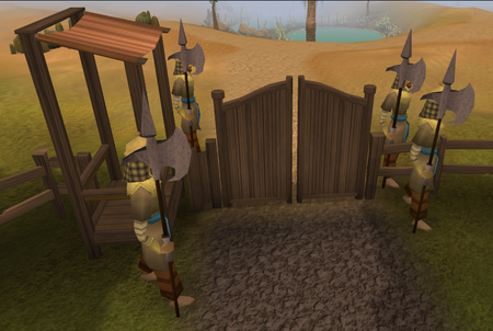 Al Kharid entrance old