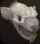 Albino rat chathead