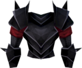 Black platebody (bugged) detail.png